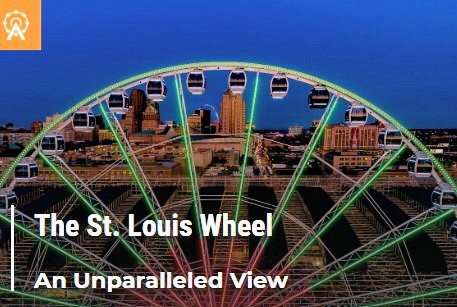 Tour: Union Station - Ride the St. Louis Wheel @ St. Louis Union Station