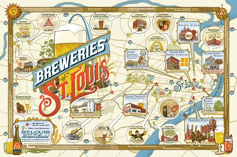 ONLINE: Tour of St. Louis Breweries, Past and Present (RSVP Accepts Only)