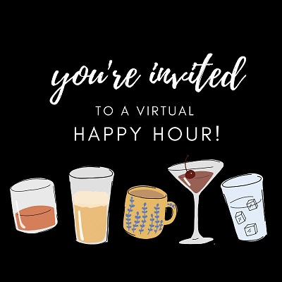 ONLINE: Social Happy Hour (RSVP Accepts Only)