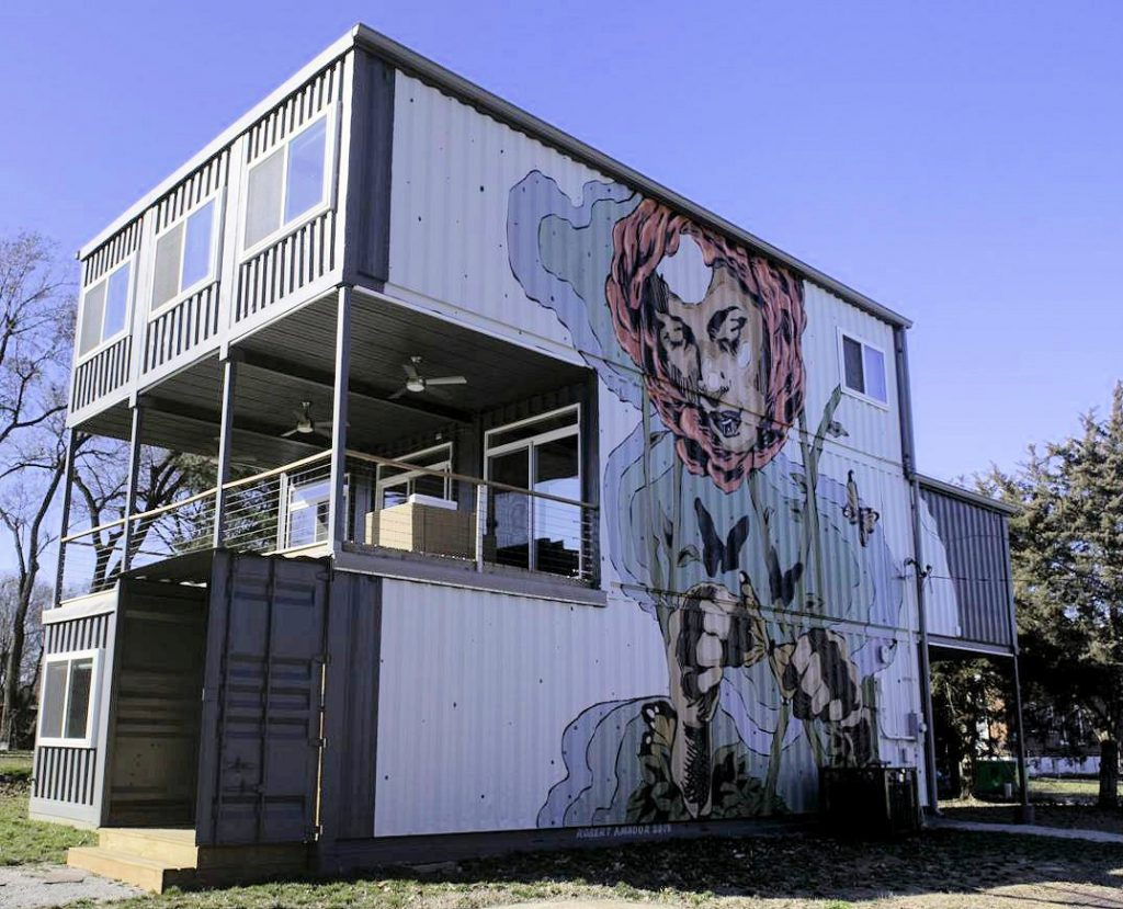 ONLINE: Talk/Tour of Shipping Container Buildings in St. Louis & Beyond